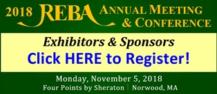2018 REBA Annual Meeting and Conference Exhibitors and Sponsors Registration