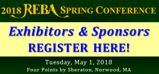 2017 REBA Spring Conference Exhibitors & Sponsors Registration